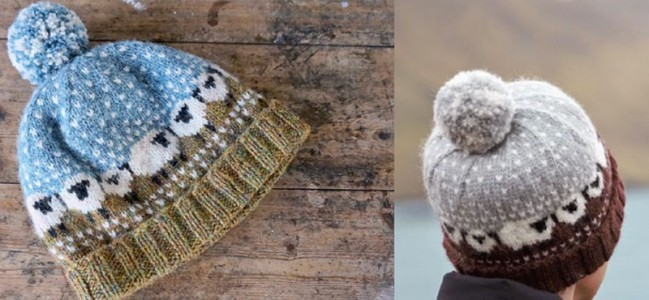 Wool Knitting Patterns : Free Knitting Pattern Shetland Wool Week