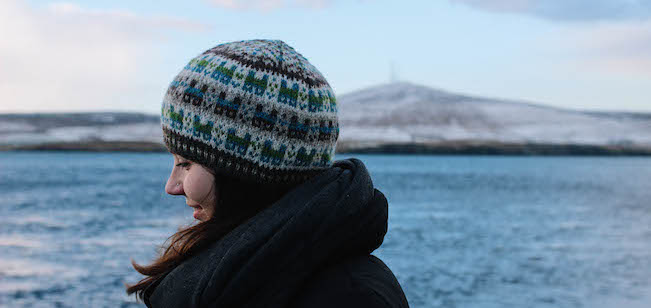 e7ecb6baefc We have some very exciting news – the official Shetland Wool Week 2016 hat  pattern is being launched today at Edinburgh Yarn Festival.