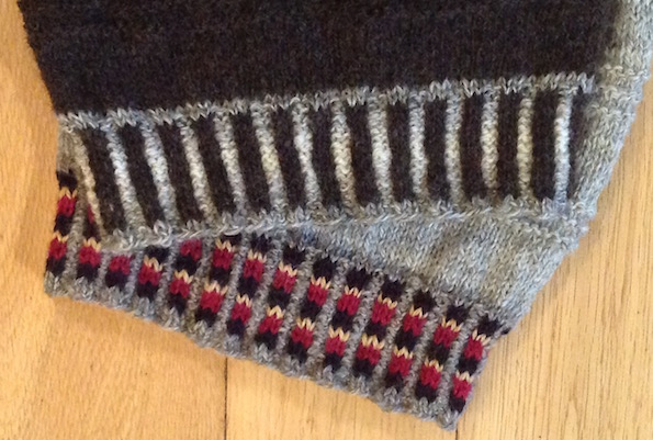 84b16f4f6ed4b1 What has been your most challenging knitwear spinning dye weave project to  date  … that has to be my Lunklet Jacket! The first one was a very  satisfying ...