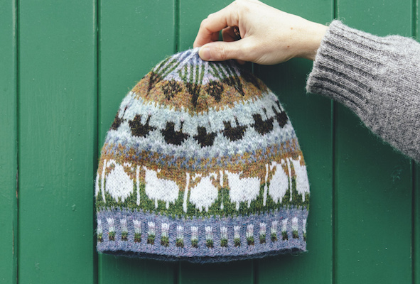 Free Knitting Pattern Shetland Wool Week